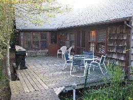 Charming Cottage/ranch, 3 bedrooms + sleeping loft, 2 baths, eat-in-kitchen, large living room, fireplace, hardwood floors, deck, outside shower, washer/dryer. $499,000