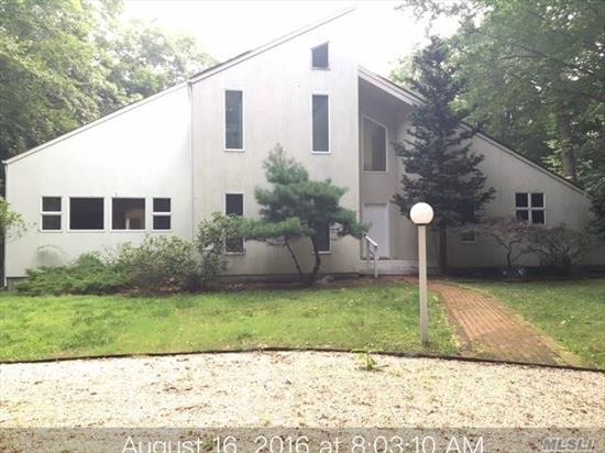 Located In The Very Desirable Old Orchard Section Of East Hampton, Nestled On 1.9 Acres And Surrounded By Privacy . Just A Mile From The Village, You Will Pass Through A Scenic Neighborhood Of Mature Beech Trees, Open Land And Large Estates. This Contemporary Is On A Cul-De-Sac With A Circular Roundabout At The End Of Your Private Driveway. Property Backs To Preserve
