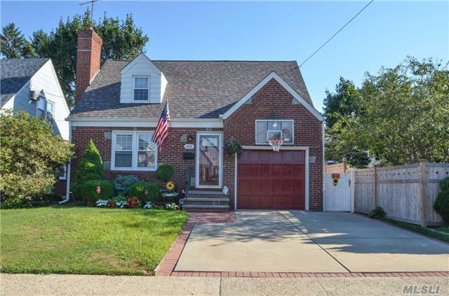 Charming Well Maintained Cape Located Just Blocks From Garden City, Close To Shops And Walking Distance To Lirr. Move In Ready!