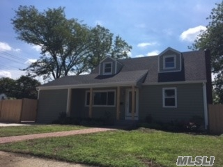 Fully Renovated Cape. Includes Brand New Roof, Siding, Windows, Kitchen, Baths And More. Stainless Steel Appliances. Owner Will Entertain Any Offers Made Within The Price Range.