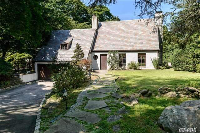 Charming Stucco Cape With A Slate Roof In The Exclusive Red Spring Colony Section Of Glen Cove. 3 Bedrooms, 2.5 Baths. Incredible Private Beach Rights Are Moments Away. Hoa. Landing Elementary School. Needs Some Tlc.