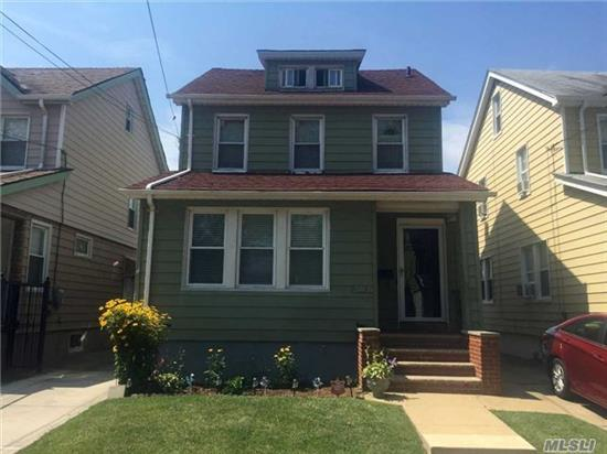 2 Family With Pride Of Ownership! New 2.5 Designer Baths. New Pergo On Every Fl Including Bsmt & Attic. New Ss Refrigerator & Stove. Roof (@9), Windows (@11), Hw Heater (@5). Nu Exterior & Interior Doors. Fin Bsmt W/Ose, .5 Bth, Hihats, Bar. Large Finished Attic. 200 Amps. Convenient All! Must Be Seen!