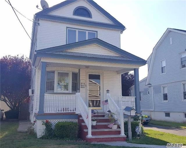Bright, Clean, Updated 3 Bdrm 1.5 Bath Colonial W/Fdr, Lr, Eik, Cer. Tile Full Bath. Updated Kitchen And Appliances. Hardwood Floors Throughout. Conveniently Located Near Schools, Shops, Restaurants, 2 Blks To Gibson Lirr. School Dist#24. Viking In Home Security/Doorbell. Charming!