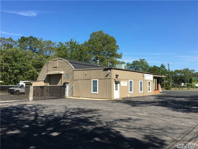 This Awesome Flex Space Property Is Perfect For An Owner User Or An Investor. The Building Currently Has 3 Tenants That Are Paying Rent. This 5, 650 Sqft. Building Sits On Exactly 1 Acre Of Property & Has Over 35 Parking Spaces. The Property Can Be Delivered Vacant. The Building Also Has One Bay. The Building Has 3 Half Bathrooms & 5 Offices.