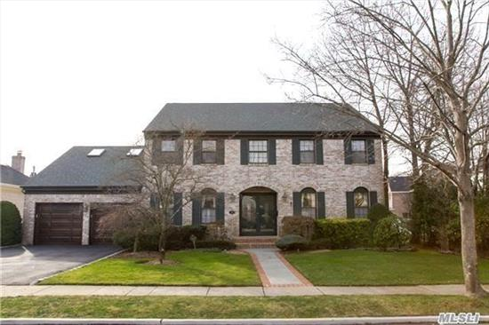 Flow & Function Abound In This Classic 5 Br Colonial. A Grand Entry Foyer Sets A Fine First Impression On The Main Level Which Includes; Flr, Fdr, Fully Equipped Eik, Denw/Wfp, A First Flr Br/Office & Laundry Area. The 2nd Level Includes: Mbr Ensuite W/4 Piece Spa Bath, Wic & Gym, 3 Add'l Br's And Hall Bath. Full Footprint Lower Level Includes: Rec & Game Room & Wine Cellar.