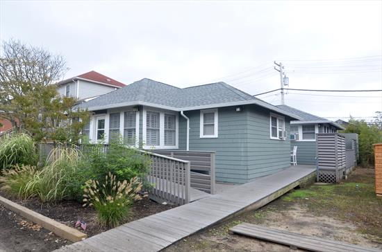 Beautifully renovated Ocean Beach home on the bordering street of Seaview. 5 bedrooms and 2 bath with large open living area. Private decks. AC. Outdoor Shower. July $5,000/week. August $5,500/week.