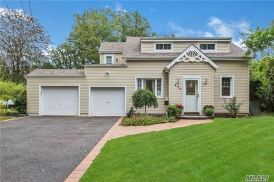 Beautiful And Meticulous Expanded Cape On Large Landscaped Property. Flr, Fdr, Eik, Den, 2 Full Bths, Large Mstr Bdrm. Gorgeous Large Property! New Bath, New Eik, Wd Floors, Crown Mldgs, Open Floor Plan And Large Bedrooms. Private Dead End Location. Associated Docking And Beach.