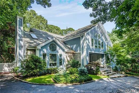 Contemporary Colonial On 1.5 Acre In Nassau County Syosset Schools + 0.5 Acre In Suffolk County Cold Spring Harbor Schools. Triple Car Garage . Private Heated Pool With Waterfall. Large Living Rm, Separate Family Rm, Library Rm.