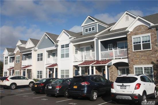 Diamond 2 Br Riverwalk Unit In Patchogue Village. Upgrades Include Hw Floors, Granite Counter Tops, Additional Storage & Custom Blinds. Village Amenities Feature Pool, Tennis, Parking At Parks & Rr Station,  Many Fine Restaurants, Theater & Shopping. Enjoy Boating, Fishing Or A Ferry To Fire Island. Just A Brief Ride To The Gateway Theatre In Bellport. So Much To Offer!