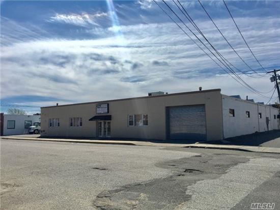 Warehouse And Office Building.  Asking $4, 500 Per Month For Rent + Their Portion Of The Utilities. The Unit Has 1 Bay And 13' Ceilings. 3% Annual Increases