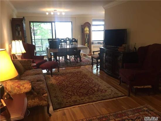 Spacious 2 Br, 2 Bath Co-Op On First Floor, Features Living Room/Dining Room Combo, And Kitchen. Amenities Include Laundry Room In Complex. Close To Transportation And Shopping.