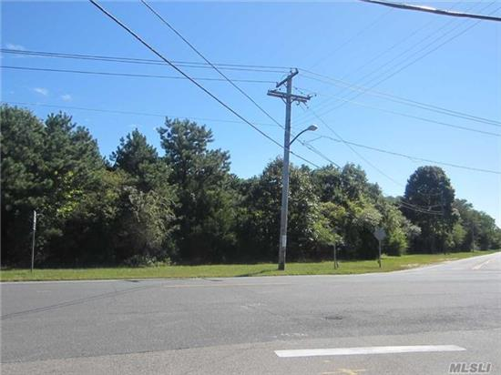 5 Acre Commercial Highway Business. Corner Parcel With High Visibility. 950' Of Road Frontage. Several Of The Permitted Uses Are: Restaurant W/Take Out- Free Standing Building; Appliance & Television Store; Bank W/On Site Drive-Thru Physical Fitness & Gym Facilities; Medical & Dental Laboratories & Offices Automobile & Mobile Home Dealers; Retail Nursery W/Lawn & Garden. An Assisted Living Facility Is A Special Exception Use In This Highway Business Zone.