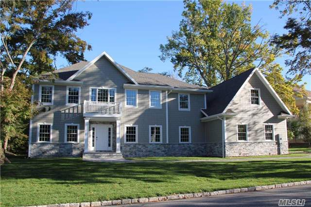 New Luxury Construction In The Estate Area Of Glen Cove. Designer Finishes Include Radiant Heat In All Bathrooms And 9' Ceilings. Approximately 5, 000 Square Feet Plus Full Basement, 5 Bedrooms/4.5 Bathrooms, All On A Flat Half Acre With Room For A Pool. Move Right In And Enjoy. Close Proximity To Morgan Park, Beaches And Marina. Now Showing Finished Inside. Great Value.