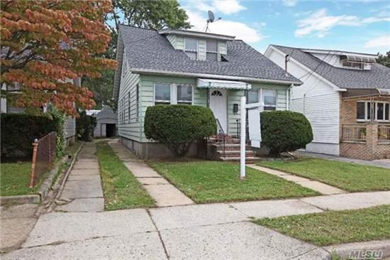 Great Investment Property. Price To Sale !!!!! 2 Family House, Great Area , Near Hempstead Turnpike. Easy To Show It !!!!