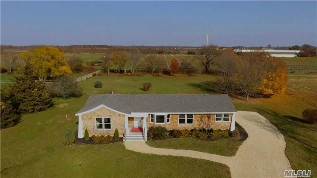 Unique Opportunity To Simply Turn The Key And Move Right In To This Completely Renovated (Interior And Exterior) Chic Farm Ranch With Forever Vineyard Views (Development Rights Sold)This All New Spectacular Home Offers A Bright, Open Floor Plan, 3-4 Br (2 Ensuite), Wine Cellar, Stainless/Quartz Eik, Deck Overlooking Large Pvt Yard. A Rare Find! City Water In Street.