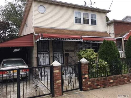 Lovely Det 2 Family Mint Condition Features 3 Bed Rms, 2 Bth On Each Floor, 2 Separate Gas Boilers, Near Transportation And Shopping, Completely Fenced Prop W/ Carport.
