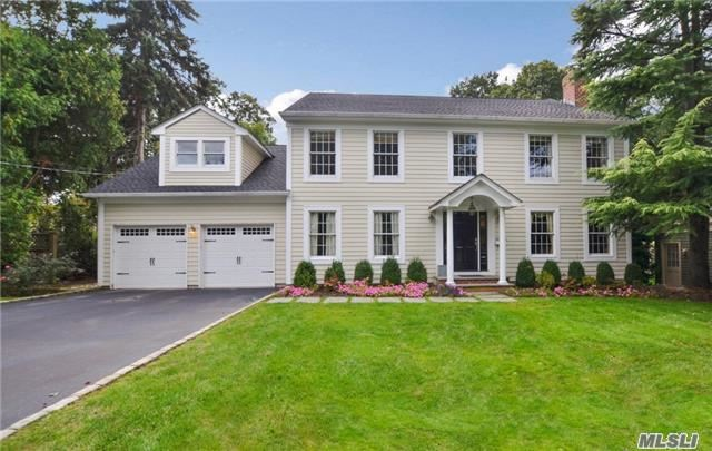 Spacious & Charming Center Hall Colonial Situation Mid Block On One Of The Most Desirable Streets In Cold Spring Harbor. First Impressions Say It All With This Pristine Home! Inviting Portico Leads You Into The Open Foyer. Spacious Rooms And Expansive Floor Plan Make Entertaining A Delight! Find Many Updates Throughout This Beautiful Home. Award Winning Csh Schools.