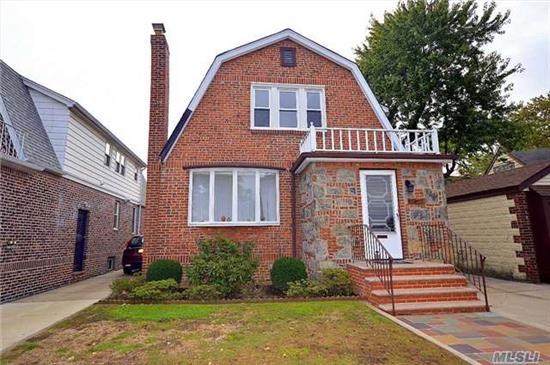 All Brick Colonial In Good Condition