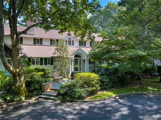 Meticulously Designed & Renovated Colonial On 2 Plus Acres.Stunning Gardens Lead You To An Amazing Pool Setting Including Gazebo, Exeptional & Spacious Cabanna W/ Every Amenity. Outdoor Shower, Tennis Court & Seperate Artist Studio Completes This Estate. 5 Bedrooms, 5.5 Baths, Gourmet Kitchen. A Welcoming Retreat From The Busy City Life. Jericho Schools.