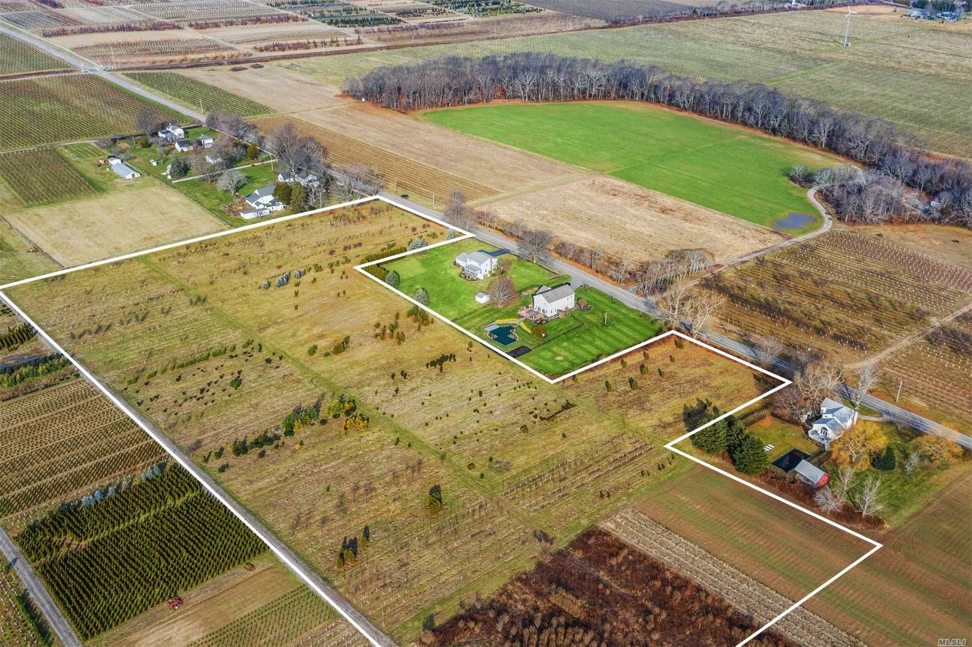 Looking To Do A Vineyard Or Nursery And Build Your Home? Look No Further, This Location And Westerly Views Are The Best In Cutchogue. Full Rights Property. Potential For Additional Building Lots Exist. 2 Acre Zoning