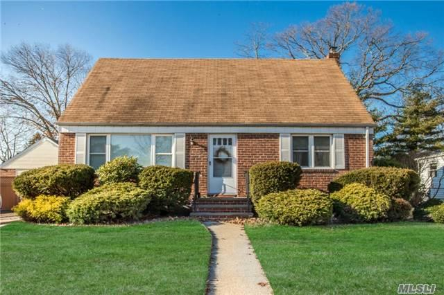 Move-In Condition 4 Bdrm 2 Bath, Rear Dormered Cape With Sun Room And Detached Garage. Beautiful Hardwood Floors, Gas Heat, Plenty Of Storage. Convenient To All. Old Mill Road Elementary. Won't Last!!
