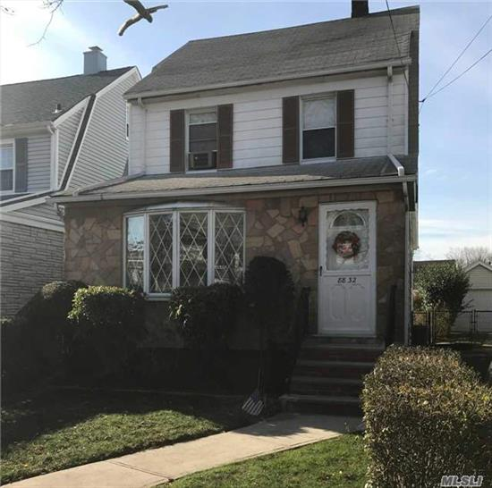 Charming Colonial, 7 Rooms, 3 Bedrooms, 1 Full Bathroom, Eik, Breakfast Nook, L/R, Formal D/R, Full Basement, Finished Walk-Up Attic. Pvt Drive, 1 Car Garage, Near All Shopping, Schools And Transportation. All Info Not Guaranteed, Must Be Verified By Buyer.