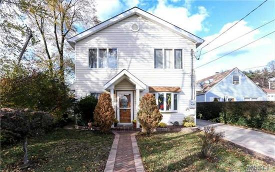 Charming Home, Recently Updated, Located In Hempstead. 4 Bdrms 2 Full Baths, With An Open Layout. Eik, Lg Lvg Rm. Lg Backyard.