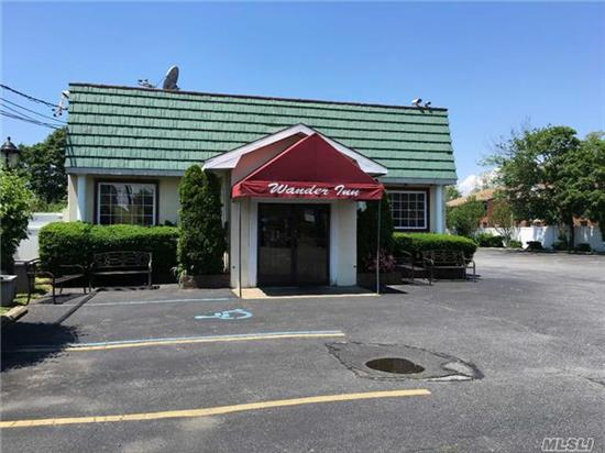 Landmark Restaurant - Name Not For Sale - Great Opportunity For New Restaurant Or Develop It. Occupancy Holds 148 Persons, Over 100 Parking Spots. Many Investor Options - Must See!