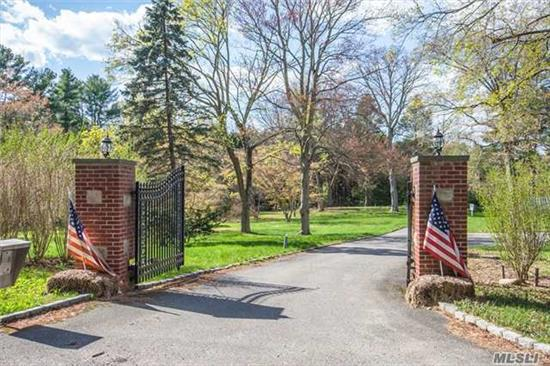 Build Your Dream Estate On 22 Breathtaking Acres Or Take Advantage Of A Possible 2 Lot Or As Of Right 4 Lot Sub-Division. Located Among Other Estates And New Homes With Easy Access To Nyc Airports, Golf, Beach. Great For Equestrian Enthusiasts. Locust Valley Sd.