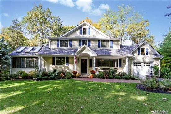 Coastal Living! Impeccable Totally Renovated Colonial In Active Bay Hills Beach Association. No Expense Spared, Just Move In And Start Enjoying Life By The Water!