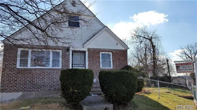 Very Rare Huge 95X100(R2A Zoning)Four Bedroom, Three Bathrooms Brick Frame Cape Cod Style Home In The Most Convenient To Everything Bayside, Livingroom, Diningarea, Eat In Kitchen, Two Bedrooms Full Bath On 1st Floor, Two Bedroom, Bath On 2nd Floor, Hardwood Floors, Separate Private Entrance In Basement, Family Room, Gas Boiler, Private Driveway, Walk To Local Buses, Bayside 26 Schools