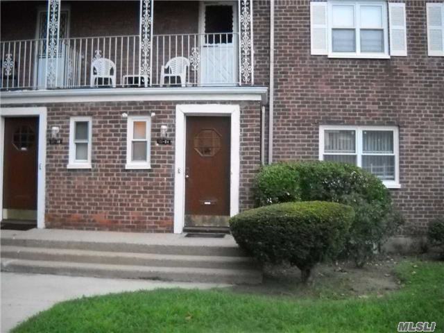 2 Bedroom Coop Apartment, Full Bathroom, Eat In Kitchen, Living Room /Dining Room