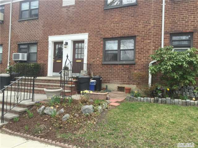 Great Opportunity! 1st Floor 2 Br Coop In Clearview Gardens For Sale Features Living Room/Dining Room Combo, Eik And 1 Full Bath. All Utilities Included In Maintenance. Appliances Include Dw, W/D, Freezer And 2 A/C Units. Hardwood Flooring. Close To Transportation, Shops + Easy Access To Parkway. Great Location, Won't Last!