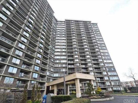 Completely Renovated 2 Bedroom (Possible Conversion To 3 Bedroom), 2 Bath Located In The Heart Of Bay Terrace. Beautiful Water Views! Separate Dining Room. Amenities Include Health Club, Convenience Store, Olympic Size Pool, Tennis And Much More! Near Transportation, Schools And Restaurants.