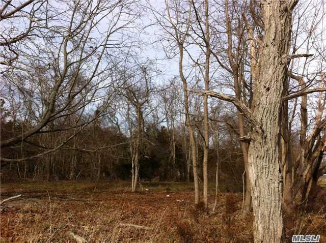 Spacious 6.4 Acre Parcel Zoned Residential And Situated Among Multi-Million Dollar Homes Recently Built South Of Montauk Highway Between South Road And South Country Road. Minutes From Westhampton Beach Village And A Great Opportunity To Subdivide And Custom Build Homes Of Your Choice.