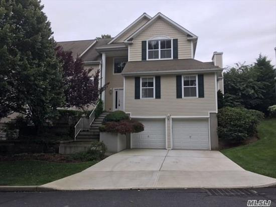 Excellent Location In Harbor View- Vaulted Ceilings , Large Bedrooms And Baths, Oak Floors, Master Br On 1st Flr, 2 Car Garage, Full Basement, Modern, Spacious, Sun-Filled Rooms, Townhouse In A Private Setting. Minutes To Theatre, Parks, Restaurants. Port Jefferson Schools. Private Beach, Golf And Parking Amenities. Walk To All.