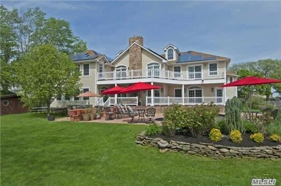 8, 000 Sq Ft Waterfront Home, Colonial Built In 2009 Set On Fosters Creek W/ Approx 125' Of Bulkheading. Amazing Quality & Craftsmanship. Chef's Kit, Dining Rm Seats 20, Home Theater, 5 Brs, 6.5 Bths, Mstr Br Wing W/Fpl, 2 Wics, Balcony, Fbth W/Jacuzzi Tub & Spa Shower, Maids Qtrs, Game Rm, 4 Car Gar, Heated Igp, Flood Insurance $800!