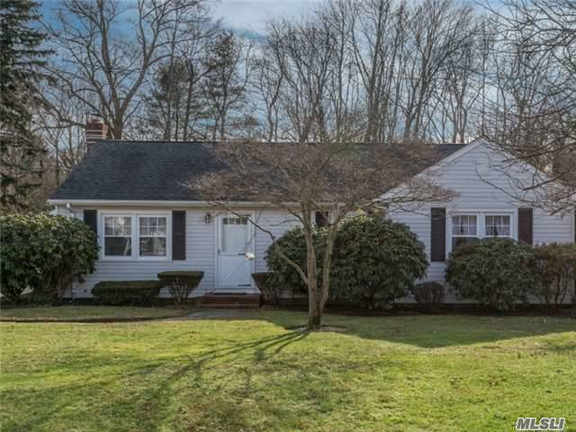 Opportunity Knocks! Wonderful 3-Bd, 1-Ba Ranch In Cul-De-Sac Serenity! Light, Bright & Sparkling Clean. Updates Include Windows, Kitchen, Raised Panel Doors, Cac, Cesspool, Roof, 200 Amp & More! Hardwood Flrs Under Carpets. Oil/Hot Water Heat - Gas On Street. Part Fin Basement. Detached 2.5-Car Garage & Private Yard. 1-Yr Home Warranty Included Free! Be The Proud Owner!