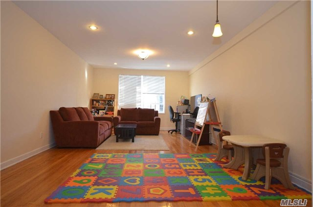 Beautifully Renovated 2 Br,  2 Full Bath In The Heart Of Forest Hills,  Ps 196 School District ,  Nine Dip Closets,  P/T Door Man,  A Short Walk To Express Subway. Lir And Shopping. Must See!!