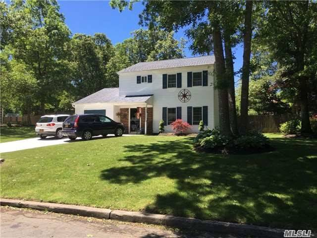 Great 3 Bedroom Colonial With Wood Floors Throughout House. Eik W/Ss Appliances. Huge Yard With Wood Deck Great For Entertaining In Great Location!