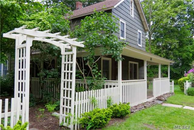 Charming Colonial Beautifully Updated With Pride And Impeccable Taste! Newer Windows, Kitchen, Bath, Custom Woodwork Shelving, Wainscoting, Newly Painted, Patio Pavers, Belgium Block Aligned Along Paved Driveway. Lots Of Closet Space! A True Gem! Great Price And Taxes In Shoreham Wading River Schools! Just Pack And Move In! Conveniently Located To Everything!