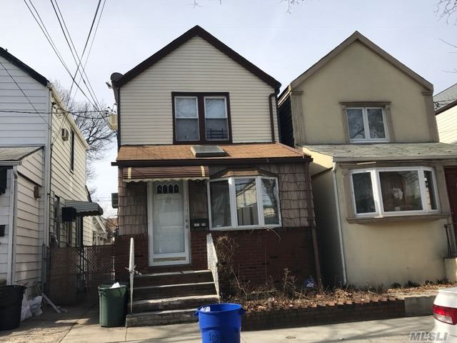 Legal One Family Home, Located In The Liberty High Section Of Ozone Park, Near Trades, Transportation (Buses & Train), Schools (Elementary, Middle & High) & Recreations Parks, Basement Is Fully Finished.