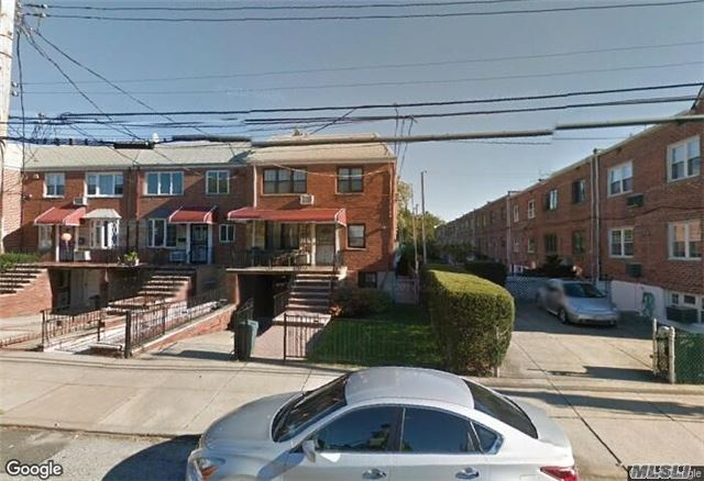 Rare Find! Huge Semi Detchd 2 Family. Each Apt. Has 3 Bdrms , Eik,  Living Rm, Dining Rm, Full Bath, Has A Full Finished Walk In, Front Porch, Pvt Yard & Garage In Front, Updated Kitchens & Bths, Hardwood Flrs, Ps 128 School Zone. Great Condition