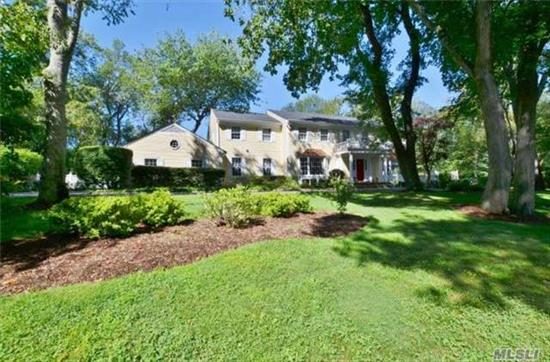 Spectacular Home On 2 Plus Acres Of Property.