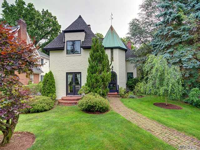 French Normandy Colonial, Fully Renovated & Impressively Expanded, Entry Foyer, Lr W/Fp, Spacious Fdr, Fam Rm W/Fp, Eik W/Bkfst Area, Pwdr Rm, 2nd Flr Mstr Br/Fp, Mstr Bth, 3 Brms, 1Bth, Stairs To Attic, High Ceilings W/Classic Architectural Details, French Drs To Beautiful Private Landscaped Prop, Fin Bsmnt, Lots Of Storage, 2 Car Gar, Cac, Walk To Train/Town, Manhasset Schools