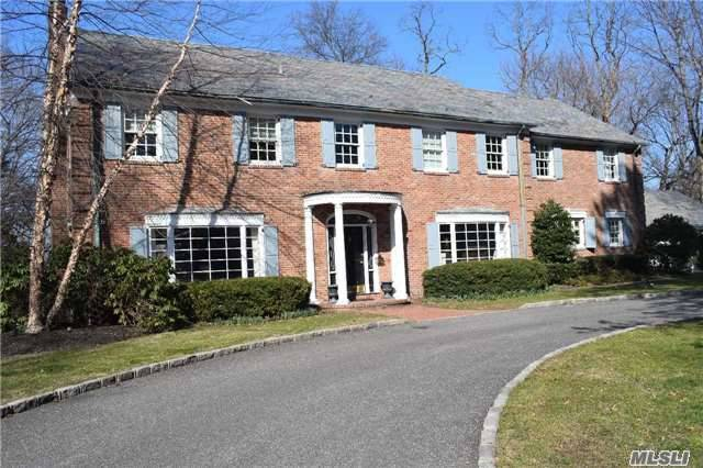 Totally Redone Classic Center Hall Colonial! Set On 2.4 Acres, Gunite Pool, Tennis Court, Covered Blue Stone Patio, A True Entertainers Home! Chefs Kitchen W/Top Of The Line Appliances, 5 New Bathrooms, Custom Details Throughout! Designer Decorated! Taxes Just Reduced!