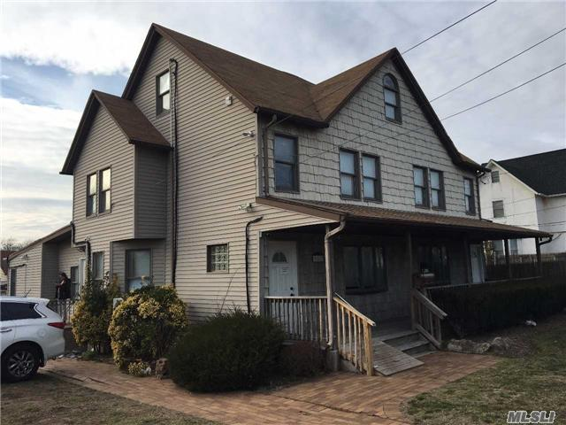 Calling All End-Users & Investors!!! Beautifully Renovated Building Featuring A Large Parking Lot, 8 Car Detached Garage, All New Energy Efficient Heating & A/C Systems, Bathrooms, Offices, Electric.  Excellent End-User Or Investor Opportunity. The Building Will Be Delivered Vacant.