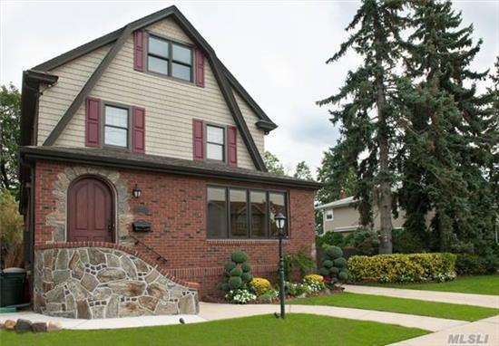 Fully Renovated Old World Col. W/Every Modern Amenity. Offers 3-4 Brs, 3.5 New Bths, Gran Kit. W/Comm Range & St St Appl. Opening To Lovely Grnds W/ 16X32 Ig Pool & Pvd Patio. Mstr Br Has Steamed Shower & Heated Flr, Ldry Rm On 2nd Flr., 3 Zone Cac, C Vac, Alarm, Gas Generator For Whole House, Wood Flrs, New Wind. 2 Car G., Fire Sprklers, Low Taxes All On 80X100 Ldscpd Priv.Prop.