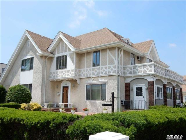 Amazing Stately Mini-Mansion Just Steps To Boardwalk. Mint/Immaculate Center/Hall Stucco Colonial W/Full Doctor's Suite Of Offices. Ideal For Beach Lover + Professional Practice On Premises!! Offering Stately Exterior & Huge Grounds By The Ocean. 5 Lrg Bedrms, Huge Fr W/Wet Bar, Lrg Lr W/Fireplce/Din Rm, Lrg Eik W/Brkfst Area. Call For More Details!! Steps To Ocean.