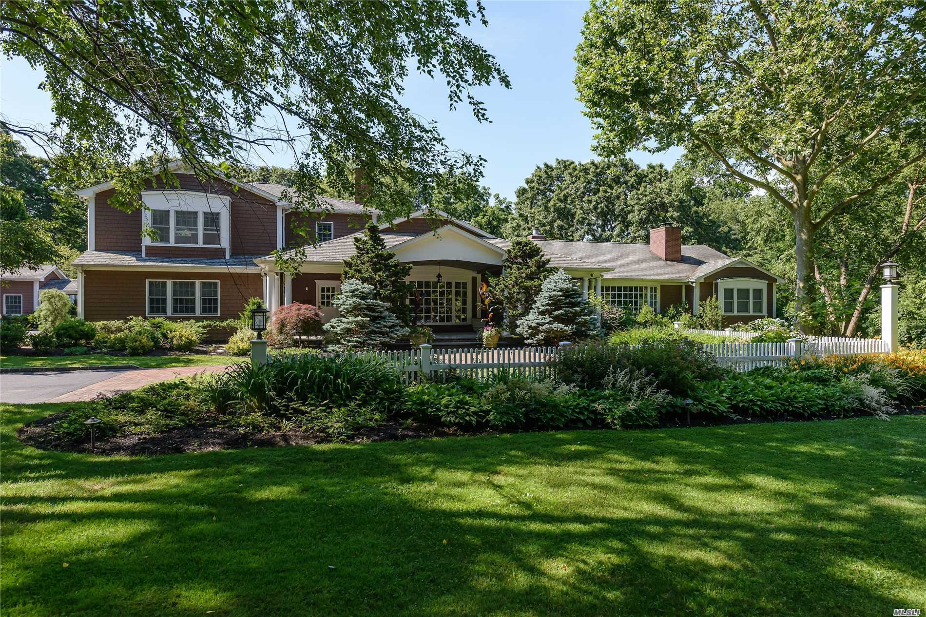Harbor Acres Is In Sands Point And Has The Luxury Of Being Close To The Town And The Lirr. Enjoy Resort Style Living In This Hampton's Inspired Luxury Home.The Residence Features An Open Floor Plan, Landscaped Grounds With An In-Ground Heated Pool And Separate Pool Cabana. The Cabana Overlooks The Pool And Features A Family Room With Fireplace, Bedroom And Full Bath. Beach, Tennis And Recreation Thru Harbor Acres Property Owner's Association.